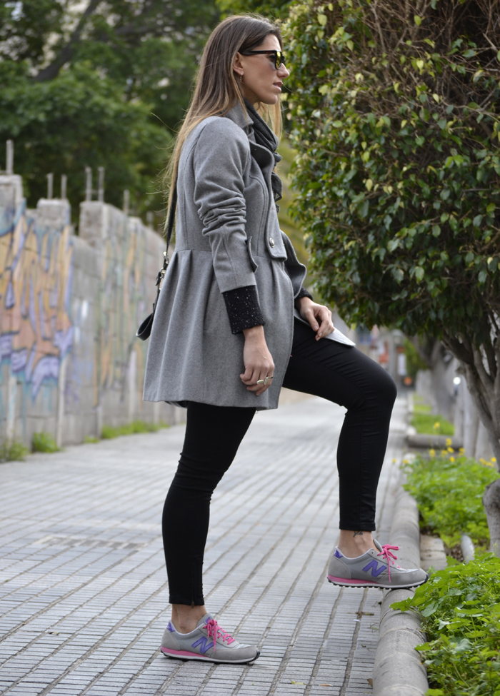 outfit new balance gris