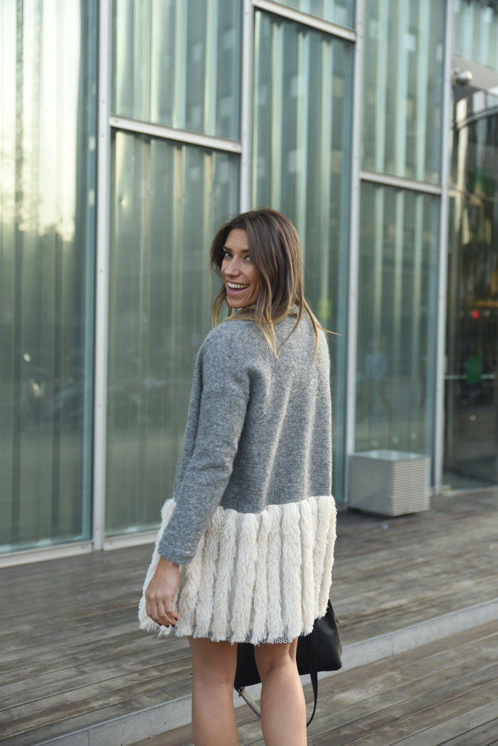 Vestido abrigo coosy