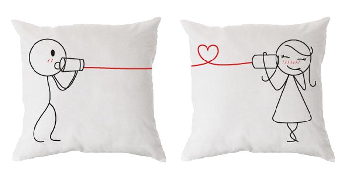 Cojines con mensaje - Ideas originales para parejas ...