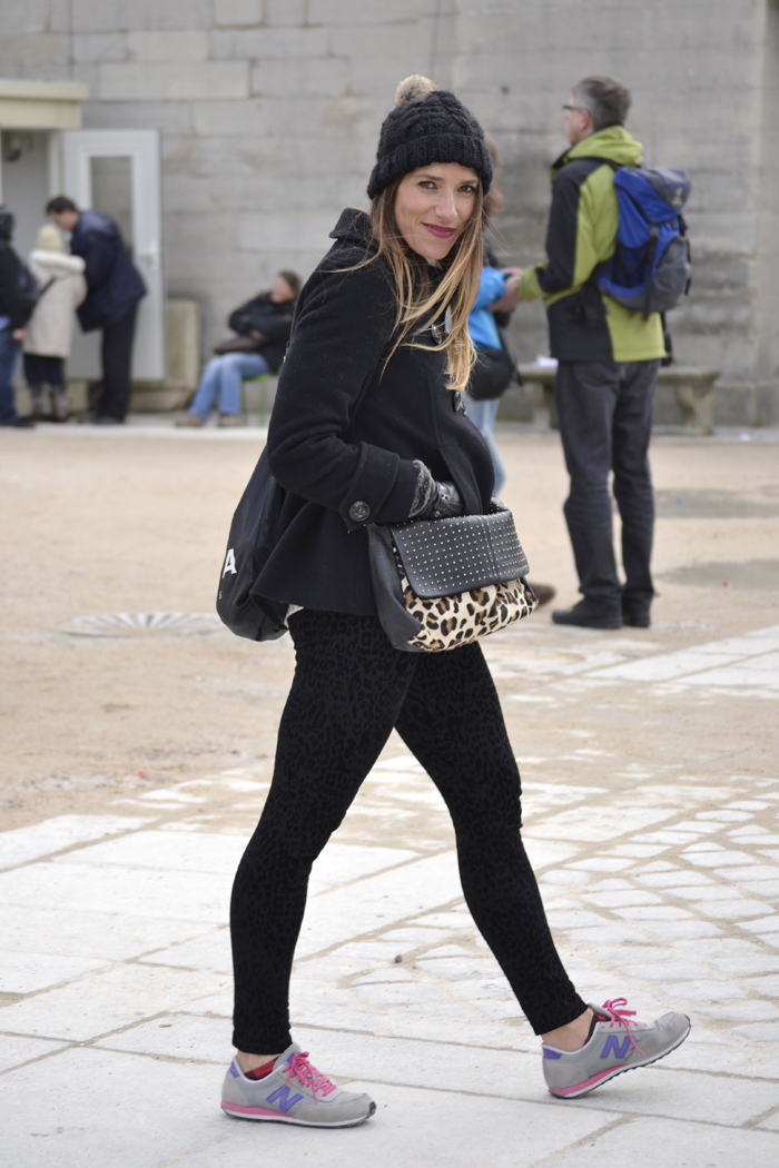 Casual Look In Paris Fashion Week